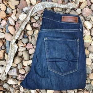Levi's Denizen Dk Wash Skinny Ankle Jeans Sz 8 *P2